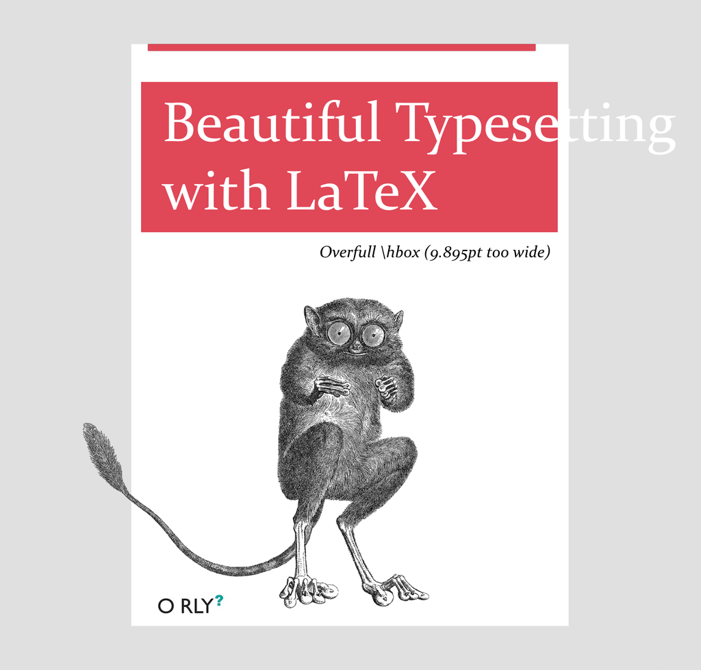 Book Cover Design Latex : Latex software research and the industry